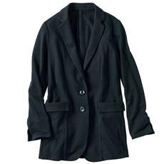 テーラードジャケット(ポーチ付き)(選べる2レングス・洗濯機OK)