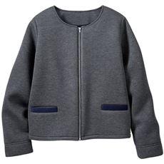 ふんわり軽量中綿素材のジャケット
