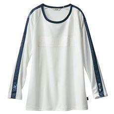 ラグラン長袖Tシャツ(Kaepa)(吸汗速乾・UVカット)