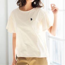袖フリルTシャツ(U.S.POLO ASSN)