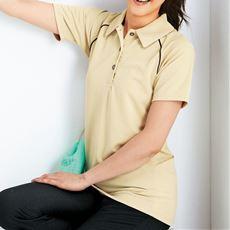 ポロシャツ(男女兼用・UVカット・吸汗速乾・静電防止・消臭テープ付き)