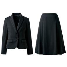 ジャージスカートスーツ(洗濯機OK)