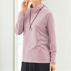 テンセル™繊維混オフタートルTシャツ(日本製)