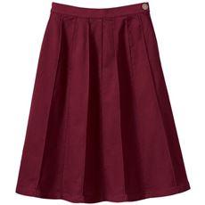 裏起毛デザインスカート