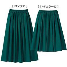 プリントフレアスカート(選べる2丈)
