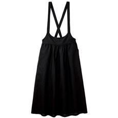 【ぽっちゃりさんサイズ】コットンリネンサロペットスカート