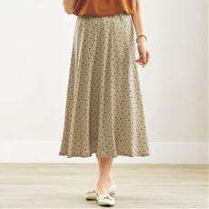 ウエストらくらくスカート(ウエスト総ゴム・選べる2レングス・洗濯機OK)