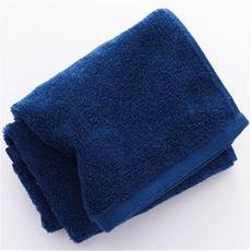 リバーシブルタオル 吸水性は高く 汚れは目立ちにくい色合い