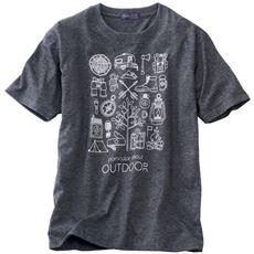 プリントTシャツ!!ほどよくムラ感のある素材がイイ感じ☆