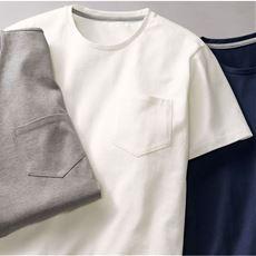 日本製・綿100%汗ジミ防止Tシャツ