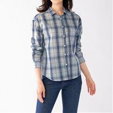 UVケア綿混レギュラーシャツ(洗濯機OK)