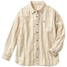 ふわぬくダブルガーゼのシャツ