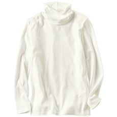 裏起毛ルーズネックTシャツ(S~5L・綿100%・選べる2丈)