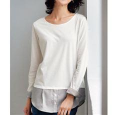 裾シャツTシャツ