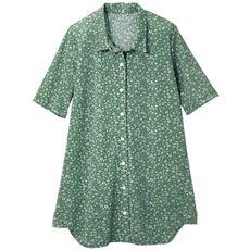 【ぽっちゃりさんサイズ】チュニック丈カットソーシャツ(接触冷感)