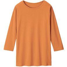 ベーシックな7分袖Tシャツ