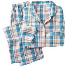 洗い替えの1枚に!柄が可愛いパジャマ(綿100%)
