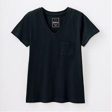 コットンモダールポケットTシャツ