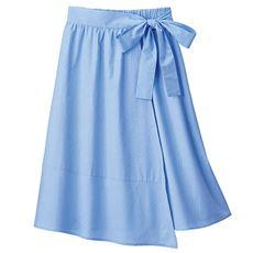 ラップギャザースカート