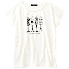 ファッションプリントTシャツ