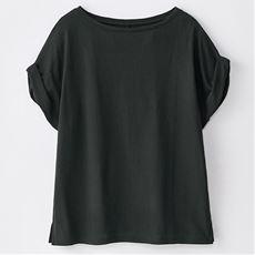 S.Cafe コットンモダール ゆるTシャツ
