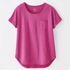S・Cafe コットンモダールロングTシャツ