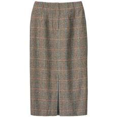 ハイウエストロングタイトスカート