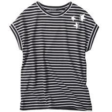 ドロップショルダープリントTシャツ