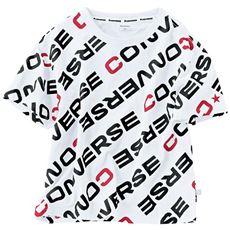 総柄プリントTシャツ(コンバース)