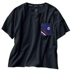 キャンバスポケットTシャツ(コンバース)