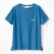 【NET限定】デニム風メッシュ半袖Tシャツ(ハローキティ)