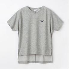 【NET限定】Vネックゆる半袖Tシャツ(ハローキティ)