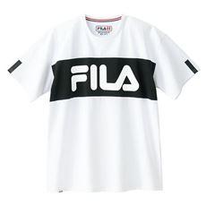 ビッグシルエット切替Tシャツ(FILA)