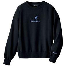 裏毛刺しゅうプルオーバー(KANGOL)