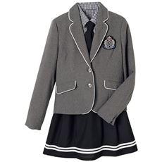 卒業式・入学式に!マリン風スーツ5点セット(スクール・制服)