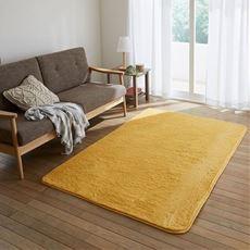 ふわふわシャギーラグ(ラビットファー調)洗濯機で丸洗いOK 床暖房ホットカーペット対応