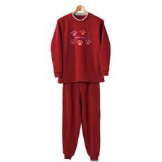 裏起毛パジャマ(上下セット)
