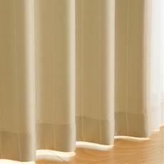 〔形状記憶付き〕風通織り遮光カーテン
