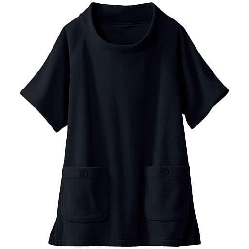 30%OFF【レディース】 フリースポンチョ - セシール ■カラー:ブラック ■サイズ:S,M,L,4L