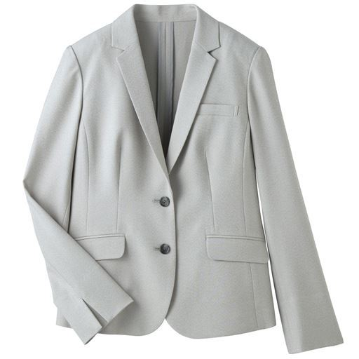 30%OFF【レディース】 テーラードジャケット(CoolBestII・事務服・選べる2丈・接触冷感・吸汗速乾・洗濯機OK) - セシール ■カラー:ブラックA(ショート丈) ■サイズ:7AR,9AR