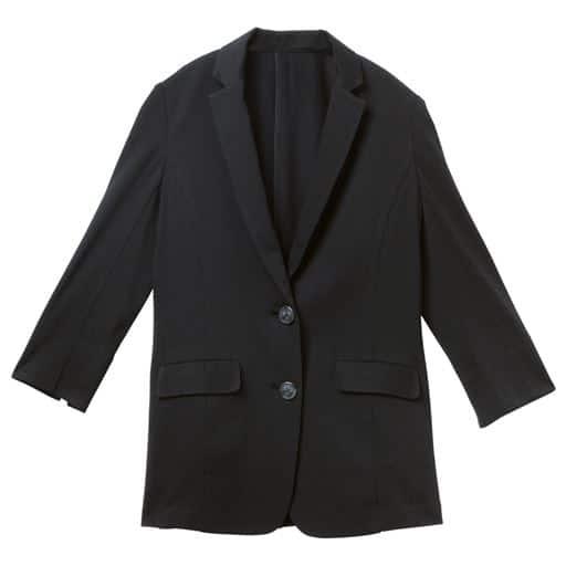 カットソーテーラードジャケット(吸汗速乾・洗濯機OK・選べる2レングス)