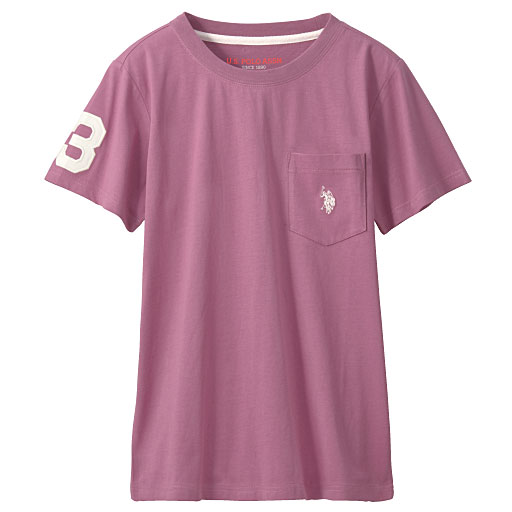 60%OFF【レディース】 ロゴTシャツ(U.S.POLO ASSN) ■カラー:プラムワイン ■サイズ:3L