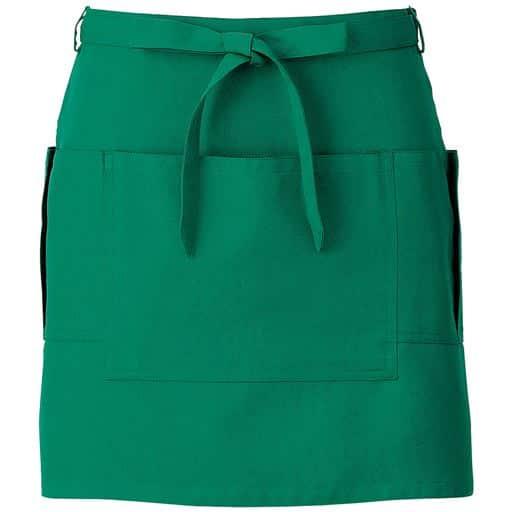 サロンエプロン(男女兼用) ■カラー:グリーン