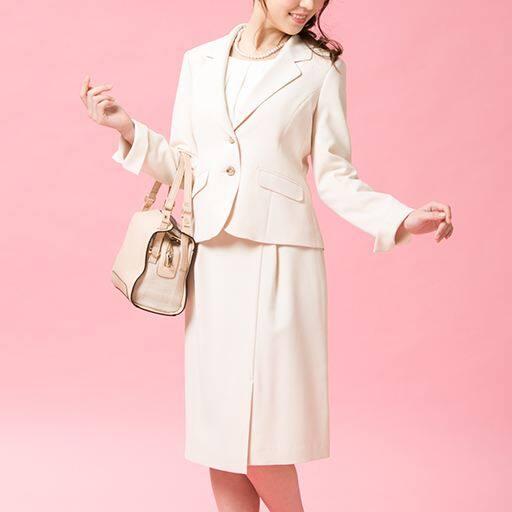 40%OFF【レディース】 スカートスーツ - セシール ■カラー:ベージュ ■サイズ:11P,5P,7P
