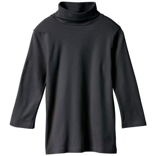UVカットルーズネックTシャツ(七分袖)(綿100%・2丈展開・S-5L)
