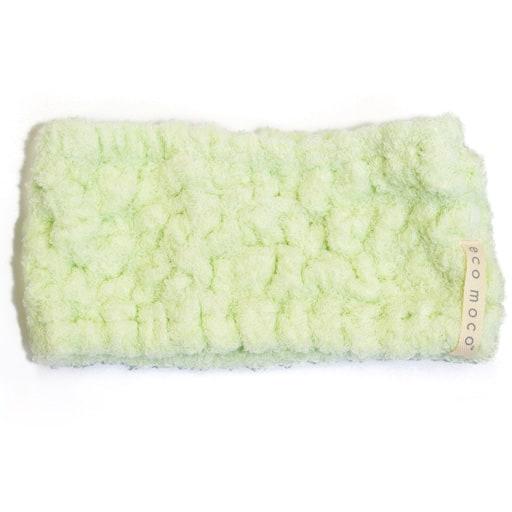 【今治産】エコモコ ヘアバンド/無撚糸のタオル生地 パイル部綿100% ■カラー:マスカットグリーン