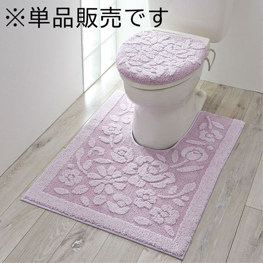 オーナメント柄ふわふわトイレ用品(単品販売)の写真