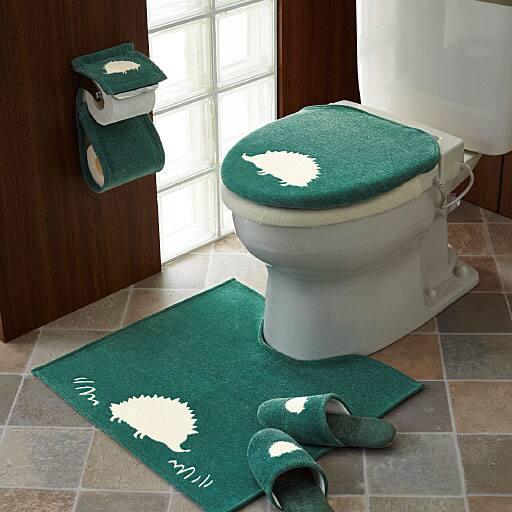 シェニール織アニマル柄トイレ用品(単品販売)の写真