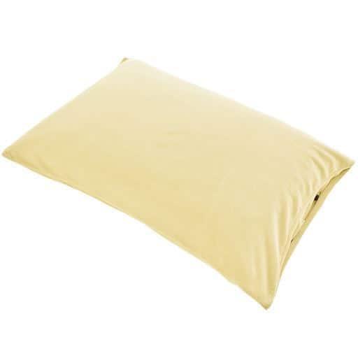 枕カバー(マイクロフリース) - セシール ■カラー:アプリコット アイボリホワイト オークベージュ ミディアムグレー ミスティラベンダー ラズベリーローズ ディープバイオレット ローズピンク オリーブグリーン アンティックブルー コーヒーブラウン ターコイズブルー ■サイズ:M(小さめ:50×35cm),L(標準:63×43cm)