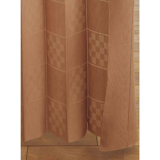 アコーディオン間仕切り ■カラー:ブラウン ベージュ ■サイズ:幅100×丈180cm,幅100×丈250cmと題した写真
